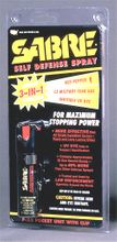 Sabre small pepper spray/tear gas with clip or jogger strap
