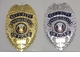 Security Officer Economy Badges - Shield