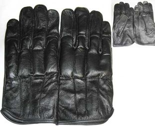 Steel Shot Sap Knuckle Gloves All Leather