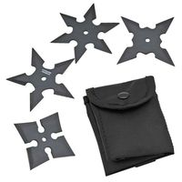 Throwing Stars Set of 4 Large and Small