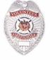Volunteer Firefighter Shield Badge Closeout Sale