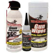 Winchester Gun Cleaning Supplies 3 pc Kit