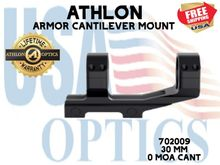 ATHLON ARMOR 30mm CANTILEVER SCOPE MOUNT 0 MOA CANT