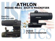 "ATHLON MIDAS MG31 3x27.5 MAGNIFIER <STRONG><FONT COLOR =""RED"">1 LEFT</STRONG></FONT>"