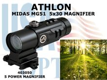"ATHLON MIDAS MG51 5x30 MAGNIFIER <STRONG><FONT COLOR = ""RED"">1 LEFT</STRONG></FONT>"
