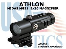 "ATHLON MIDAS MG51 5x30 MAGNIFIER <STRONG><FONT COLOR = ""RED"">1 LEFT - SHOW DEMO - FULL MANUFACTURERS WARRANTY</STRONG></FONT><BR>"