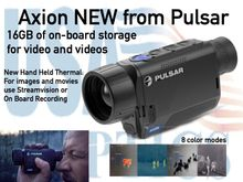 Axion - New Hand Held Thermal from Pulsar
