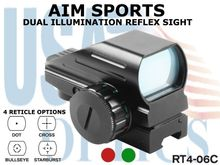 AIM SPORTS DUAL ILLUMINATION REFLEX SIGHT