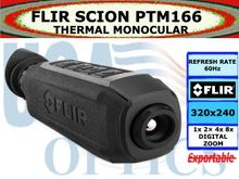 FLIR SCION PTM166 THERMAL MONOCULAR
