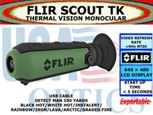 FLIR SCOUT TK - HANDHELD THERMAL