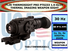 FLIR THERMOSIGHT PRO PTS233 1.5-6x19 THERMAL IMAGING WEAPON SIGHT