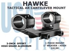 "HAWKE TACTICAL AR CANTILEVER MOUNT 1"" 1 PIECE WEAVER MOUNT - HIGH"