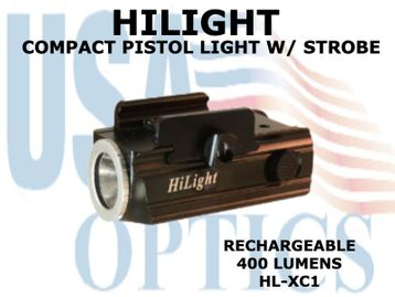 "HILIGHT 400 LM. PISTOL FLASHLIGHT W/STROBE <FONT COLOR = ""RED""> ONLY 2 IN STOCK </FONT>"