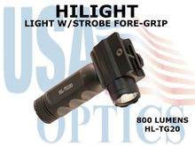 HILIGHT 800lm LIGHT W/STROBE FORE-GRIP