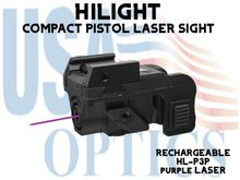 HILIGHT PURPLE LASER SIGHT - RECHARGEABLE