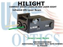 HILIGHT COMPACT GREEN LASER AND IR RED LASER SIGHT