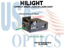 HILIGHT COMPACT GREEN LASER AND IR LASER SIGHT