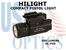 HILIGHT PISTOL LIGHT 500 LUMENS