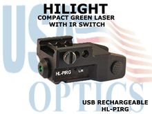 HILIGHT TACTICAL GREEN LASER SIGHT WITH IR SWITCH