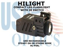 HILIGHT TACTICAL LED FLASHLIGHT WITH IR SWITCH