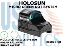 """HOLOSUN MICRO GREEN DOT SYSTEM<font color = """"red""""> LIMITED AVAILABILITY</FONT>"""