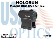 HOLOSUN MICRO RED DOT OPTIC