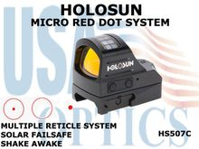"""HOLOSUN MICRO RED DOT SYSTEM <font color = """"red""""> LIMITED AVAILABILITY</FONT>"""