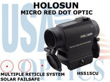 HOLOSUN MICRO RED DOT W/FLIP COVERS