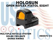 HOLOSUN OPEN REFLEX PISTOL SIGHT - RED
