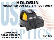 HOLOSUN MICRO RED DOT SYSTEM - DOT ONLY