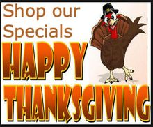 THANKSGIVING SPECIALS