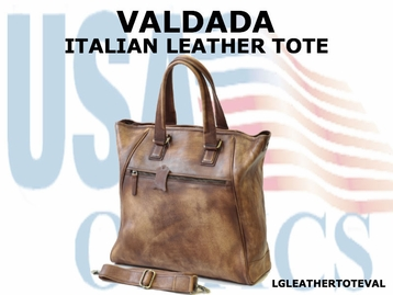 VALDADA ITALIAN LEATHER TOTE