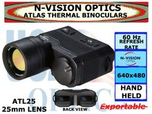 N-VISION OPTICS ATLAS THERMAL BINOCULARS 25mm LENS