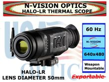 N-VISION OPTICS HALO-LR THERMAL SCOPE 50mm LENS