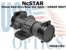 NcSTAR 35mm RED/GRN/BLUE DOT OPTIC - URBAN GRAY