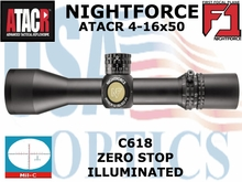 NIGHTFORCE ATACR 4-16x50 F1 MIL-C ILLUMINATED