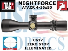 """NIGHTFORCE ATACR 4-16x50 F1 MOAR ILLUMINATED <STRONG><font color = """"red"""">LIMITED AVAILABILITY</FONT></STRONG><BR>"""
