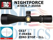 NIGHTFORCE ATACR 7-35x56 ZEROSTOP Mil-C ILLUMINATED
