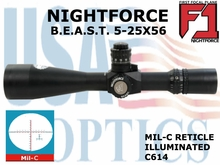NIGHTFORCE - B.E.A.ST. 5-25x56 MIL-C
