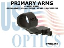 PRIMARY ARMS HIGH CANTLEVER 30mm MOUNT - LOWER ⅓ CO-WITNESS