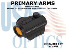 PRIMARY ARMS SILVER SERIES ADVANCED PUSH BUTTON MICRODOT RED DOT SIGHT