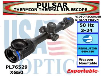 PULSAR THERMION XG50 3-24x42 THERMAL RIFLESCOPE
