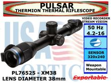 PULSAR THERMION XM38 4.2-16x38<BR>THERMAL RIFLESCOPE