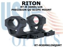 RITON RT-M 30MM/1IN PRECISION QD SCOPE MOUNT