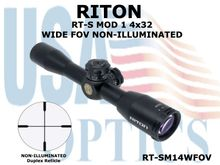 RITON RT-S MOD 1 4x32 WIDE FOV NON-ILLUMINATED