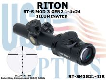 RITON RT-S MOD 3 GEN2 1-4X24/IR - ILLUMINATED