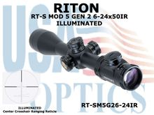 RITON RT-S MOD 5 GEN2 6-24X50IR-ILLUMINATED