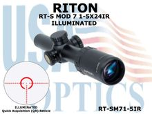 RITON RT-S MOD 7 1-5X24IR - ILLUMINATED