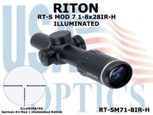 RITON RT-S MOD 7 1-8x28IR-H (HUNTING) ILLUMINATED