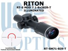 RITON RT-S MOD 7 1-8x28IR-T (TACTICAL) ILLUMINATED